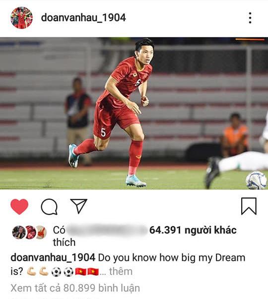Đăng ảnh ăn mừng chiến thắng trên Instagram, Đoàn Văn Hậu bị cổ động viên Indonesia tràn vào bình luận miệt thị, xúc phạm nặng nề - Ảnh 3.