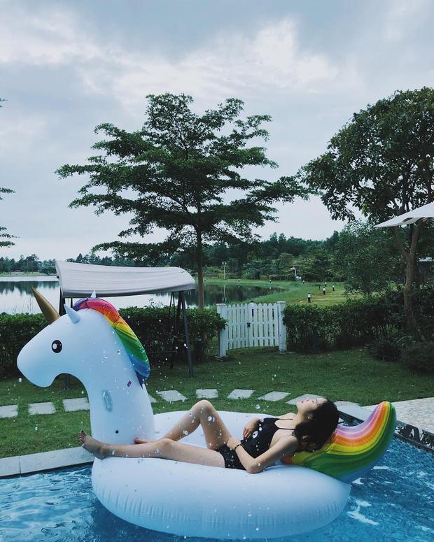 Cao chưa đầy 1m60 nhưng hễ diện diện bikini là bạn gái Đoàn Văn Hậu lại đốt mắt người nhìn - Ảnh 3.