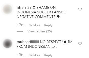 Đăng ảnh ăn mừng chiến thắng trên Instagram, Đoàn Văn Hậu bị cổ động viên Indonesia tràn vào bình luận miệt thị, xúc phạm nặng nề - Ảnh 9.