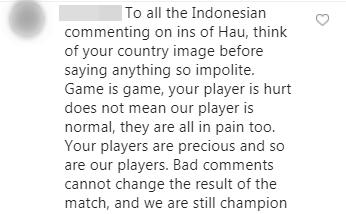 Đăng ảnh ăn mừng chiến thắng trên Instagram, Đoàn Văn Hậu bị cổ động viên Indonesia tràn vào bình luận miệt thị, xúc phạm nặng nề - Ảnh 10.