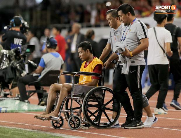 Đã có kết luận về chấn thương của sao Indonesia phải ngồi xe lăn: Nhẹ đến bất ngờ, ai còn nói Văn Hậu hủy hoại sự nghiệp đối phương nữa? - Ảnh 2.