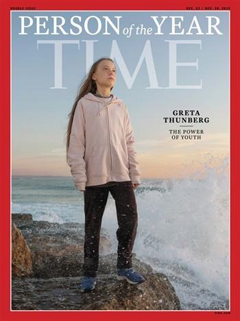 Nhà hoạt động vì môi trường 16 tuổi được chọn là Nhân vật của năm - Ảnh 1.