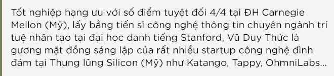 TS Vũ Duy Thức: Khát vọng xây startup kỳ lân trên đất Mỹ và ươm những hạt giống tốt nhất ở Việt Nam - Ảnh 1.