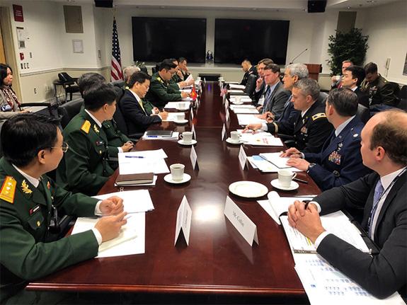 Đối thoại Chính sách Quốc phòng Việt Nam-Hoa Kỳ 2019 - ảnh 1