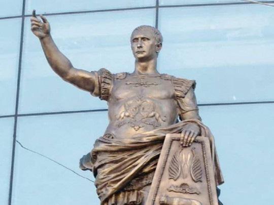 Mặt như tượng tạc là có thật: Người Nga xôn xao về bức tượng Hoàng đế La Mã có khuôn mặt giống TT Putin - Ảnh 1.
