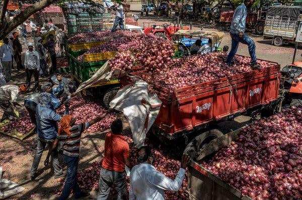 Chỉ có thể là Ấn Độ: Cả nước chao đảo vì củ hành, cướp giật tung hoành, buôn bán ế ẩm bỗng phất như diều - ảnh 2