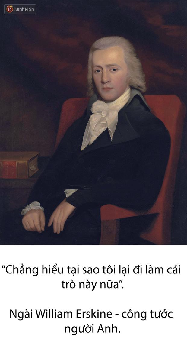 Ngài William đã thốt lên những câu này trước khi gieo mình từ ban công của một tòa nhà cao tầng.