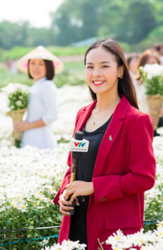 Điều ít biết về BTV xinh đẹp, đam mê thi hoa hậu nhất VTV - Ảnh 1.