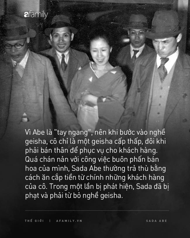 Cuộc đời cùng cực của người phụ nữ từ geisha trở thành gái mại dâm: Bị cưỡng hiếp năm 14 tuổi và trong cơn cuồng ghen bỗng trở thành sát nhân biến thái - Ảnh 2.