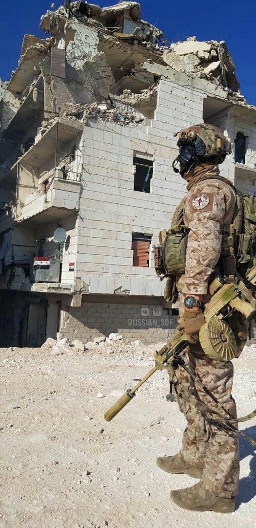 Xuất hiện loại súng cực độc của Nga ở Syria: Tuyệt hảo đến không ngờ - ảnh 1