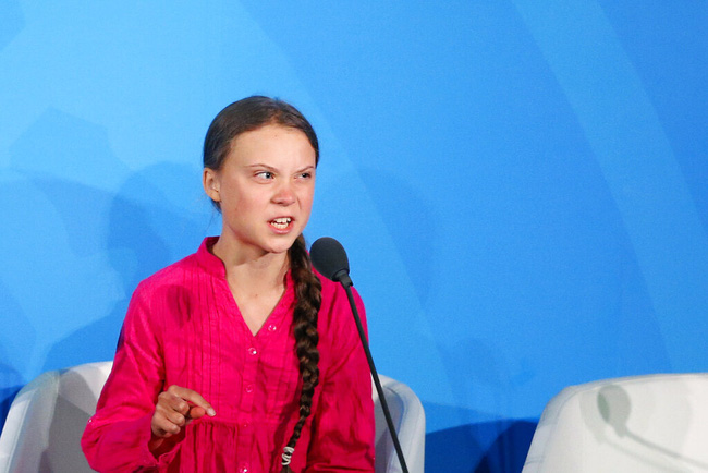 Nhà hoạt động môi trường nhí Greta Thunberg đáp trả sâu cay Tổng thống Trump khi bị ông mỉa mai việc được Time chọn là nhân vật của năm - Ảnh 4.