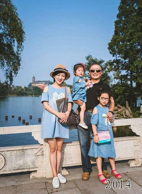 35 năm, bố và con gái chụp cùng một địa điểm: Sự thay đổi ở từng bức ảnh khiến tất cả xúc động - ảnh 2