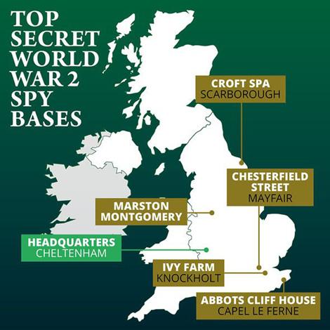Tình báo Anh giải mật 5 căn cứ thời chiến - Ảnh 1.