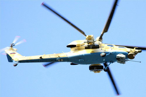 Nga công bố hình ảnh trực thăng Mi-28UB rơi trong khi bay huấn luyện - Ảnh 12.