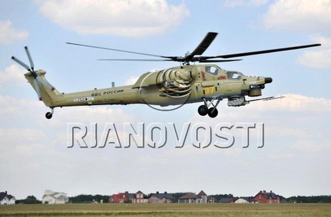 Nga công bố hình ảnh trực thăng Mi-28UB rơi trong khi bay huấn luyện - Ảnh 4.