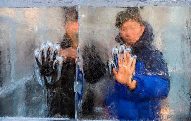 24h qua ảnh: Hàng nghìn con ngỗng tuyết bay tới thung lũng ở Mỹ - Ảnh 1.