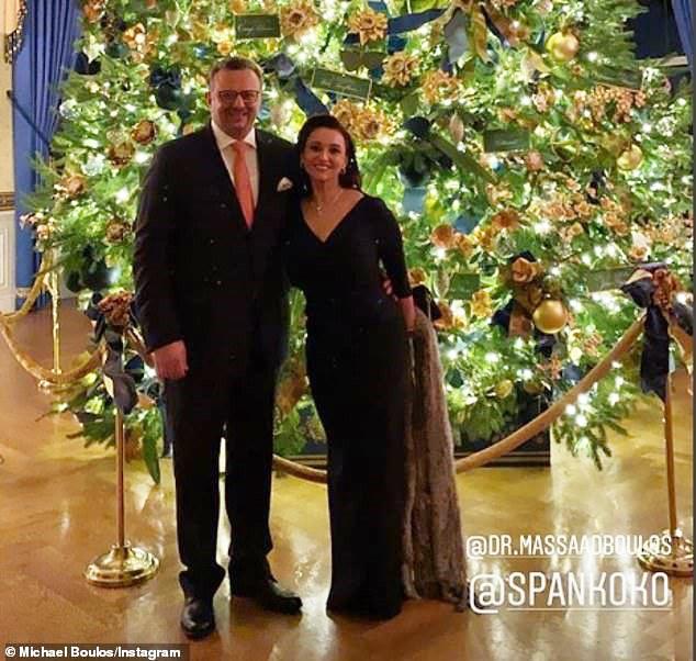 Tiffany Trump cùng gia đình bạn trai triệu phú dự Giáng sinh tại Nhà Trắng, mẹ chồng tương lai của cô mới đáng chú ý hơn cả - Ảnh 2.