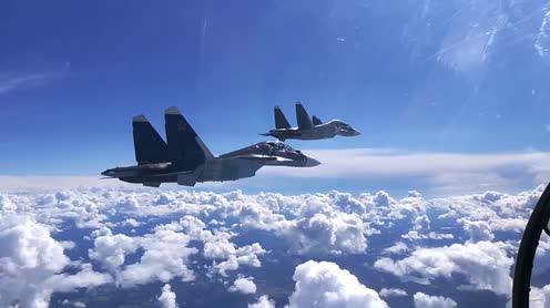 CẬP NHẬT: Tiêm kích tàng hình Su-57 Nga lại bất ngờ xuất hiện ở Syria - Thần không biết, quỷ không hay - Ảnh 17.