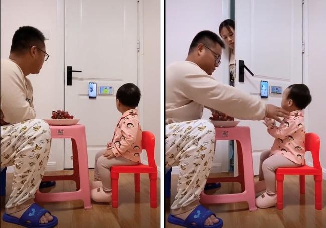 """Pha """"thông đồng"""" đỉnh cao của năm: Bố và con gái lén lút xem điện thoại, mẹ rình bao lần vẫn không thể bắt quả tang - Ảnh 2."""
