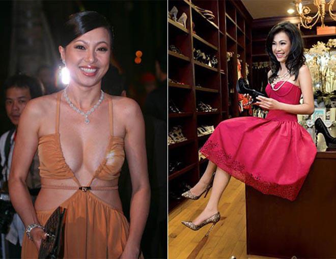 Cuộc sống của hoa hậu nóng bỏng, giàu có nhất Việt Nam và mối tình 10 năm không kết hôn dù có con chung - Ảnh 3.