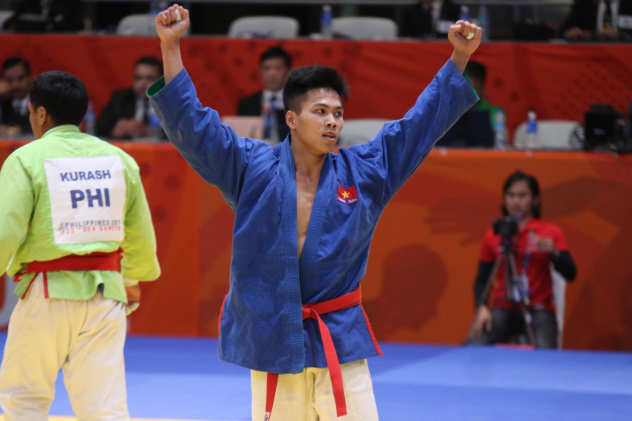 Kurash đoạt liền 5 HCV, giúp đoàn thể thao Việt Nam bứt phá ngoạn mục