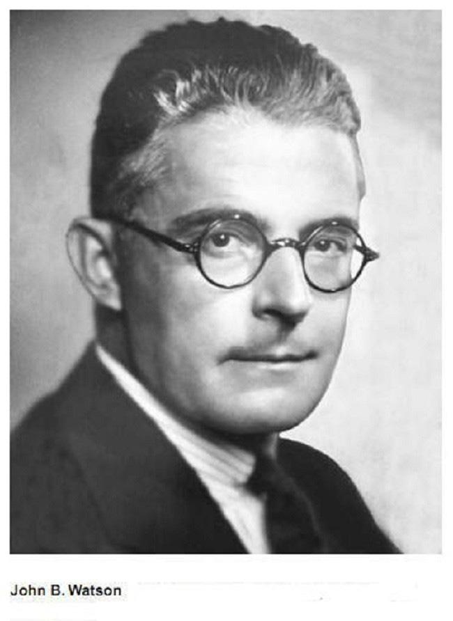 Ông John Broadus Watson đã khiến 3 người con bị trầm cảm bởi thí nghiệm của mình.