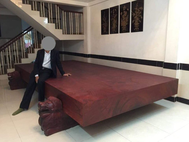 Tấm gỗ sưa được quảng cáo 1500 tuổi có giá 460 tỷ đồng khiến dân mạng xôn xao - ảnh 2