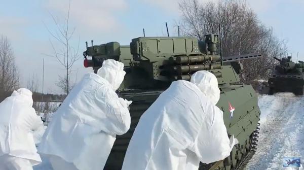 Robot Uran-9 Nga chính thức thực chiến ở Syria: Bước ngoặt mới - Ảnh 9.
