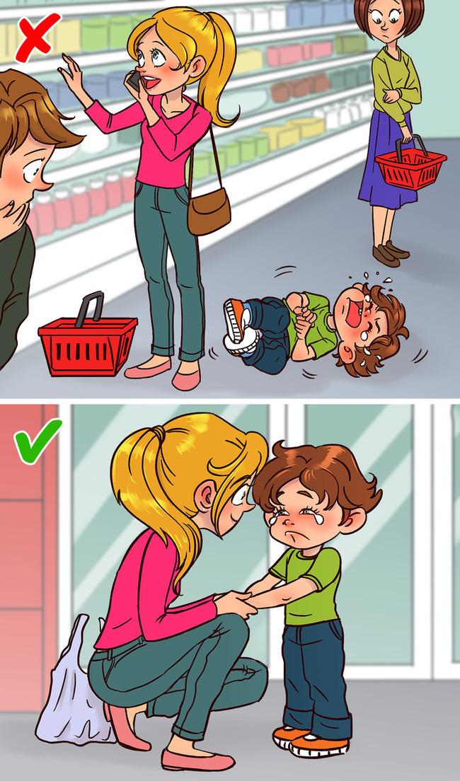 Không phải quát tháo hay đòn roi khi phạt con hư, bố mẹ hãy làm theo các chiến lược đơn giản mà hiệu quả sau đây - Ảnh 2.