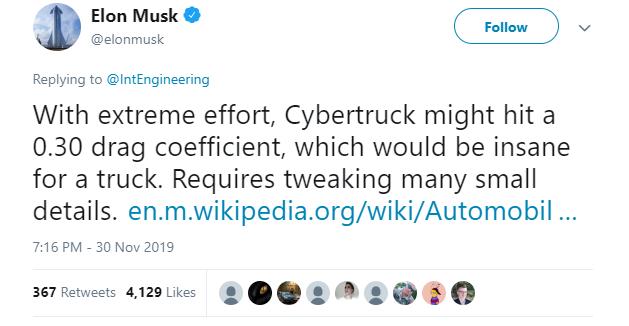 Anh YouTuber làm bài thử khí động lực học cho xe Cybertruck: hóa ra cục gạch 4 bánh này xé gió vút đi dễ dàng hơn bạn tưởng! - Ảnh 4.