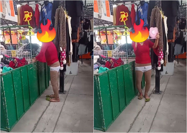 Đến cửa hàng quen, người phụ nữ thản nhiên thử nội y giữa thanh thiên bạch nhật khiến người bán ngỡ ngàng, phải đăng đàn hỏi ý kiến dân mạng - Ảnh 3.