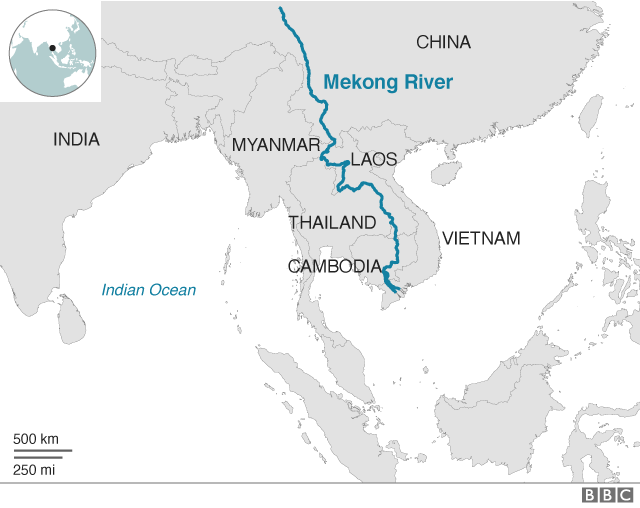 Sông Mekong bị bức tử: Hàng trăm km sông lùn đi vài mét, thảm họa đang tới rất gần? - Ảnh 3.