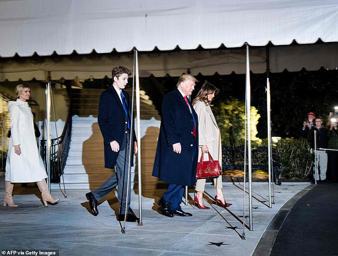 Gia đình nhà ông Donald Trump thay đổi như thế nào trong 10 năm qua? - Ảnh 15.