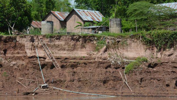 Sông Mekong bị bức tử: Hàng trăm km sông lùn đi vài mét, thảm họa đang tới rất gần? - Ảnh 4.