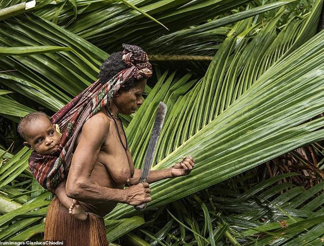 Hình ảnh hiếm hoi về người Korowai - bộ lạc mà thế giới suýt không biết đang tồn tại - Ảnh 8.