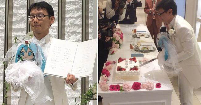 Cuộc sống hôn nhân hạnh phúc viên mãn của người đàn ông Nhật Bản sau hơn 1 năm tổ chức lễ cưới với búp bê Hatsune Miku - Ảnh 1.