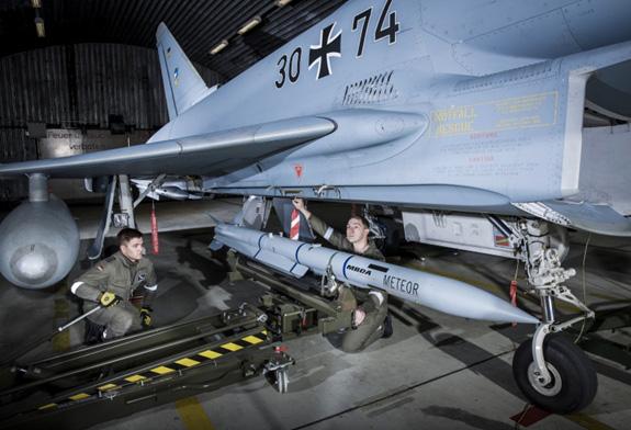 Đức tăng số lượng tên lửa Meteor trong kho - Ảnh 2.