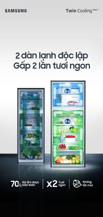 Cùng chức năng làm lạnh, tủ lạnh 2 dàn lạnh độc lập có ưu điểm gì so với tủ lạnh thường? - Ảnh 1.