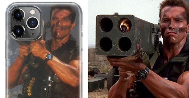 Arnold Schwarzenegger dùng ốp lưng iPhone 11 Pro bị cư dân mạng chế ảnh - Ảnh 3.