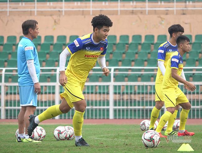 U23 Việt Nam trước ngày lên đường: Thầy Park phát cáu với thủ môn - Ảnh 5.