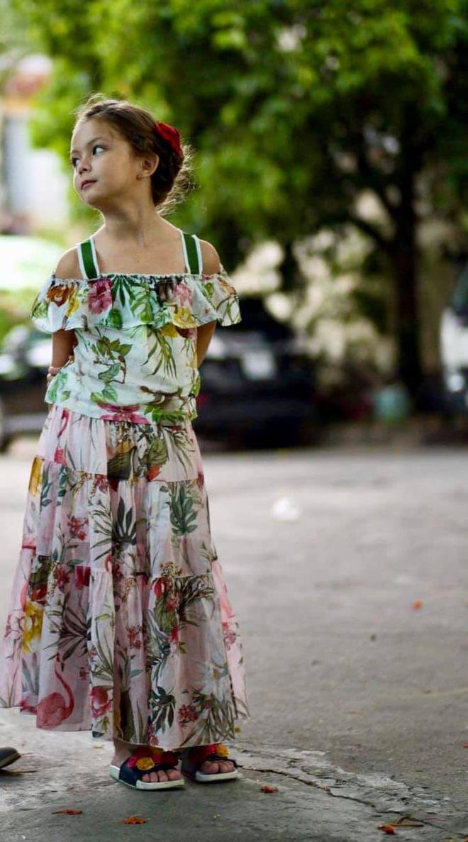 Con gái diva Hồng Nhung ngày càng xinh và thần thái, gu thời trang sang chảnh đúng chuẩn tiểu mỹ nhân đây rồi!  - Ảnh 5.