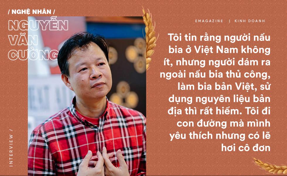 Gã lập dị Nguyễn Văn Cường: Bỏ việc nghìn đô ở Carlsberg, cắm sổ đỏ khởi nghiệp tuổi 48 và ông chủ vựa bia thủ công nổi tiếng trên CNN - Ảnh 2.