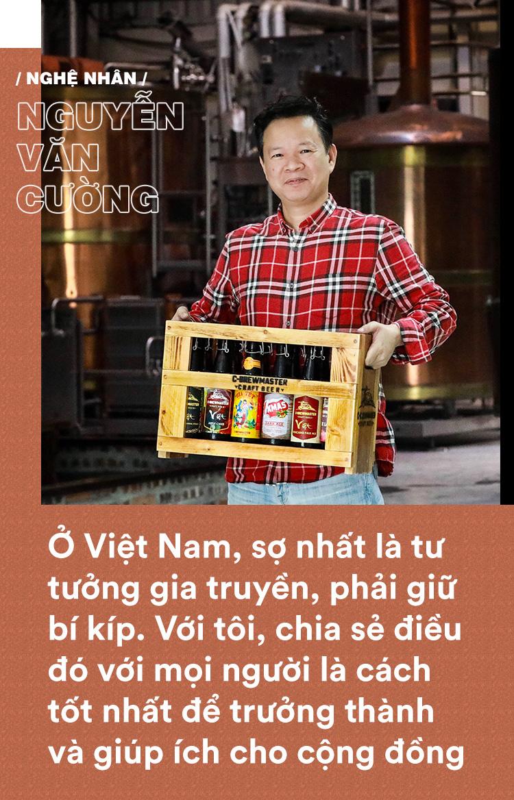 Gã lập dị Nguyễn Văn Cường: Bỏ việc nghìn đô ở Carlsberg, cắm sổ đỏ khởi nghiệp tuổi 48 và ông chủ vựa bia thủ công nổi tiếng trên CNN - Ảnh 11.