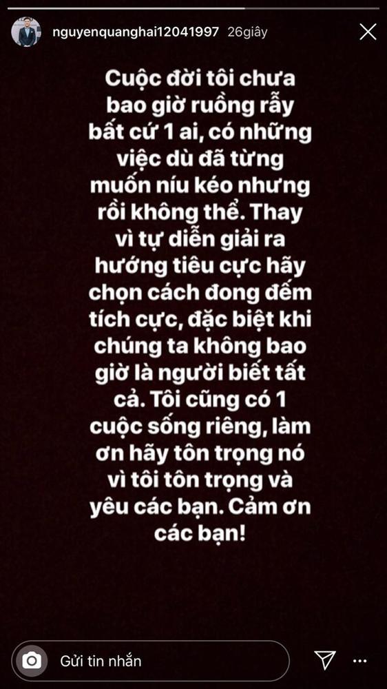 Quang Hải vừa có bạn gái mới, Nhật Lê cũng xóa hết ảnh thời yêu đương xưa cũ, chấm dứt mối tình năm 17 tuổi - Ảnh 2.