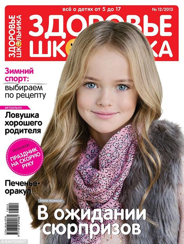 Bất ngờ trước hình ảnh hiện tại của mẫu nhí Nga được mệnh danh đẹp nhất thế giới - Ảnh 12.