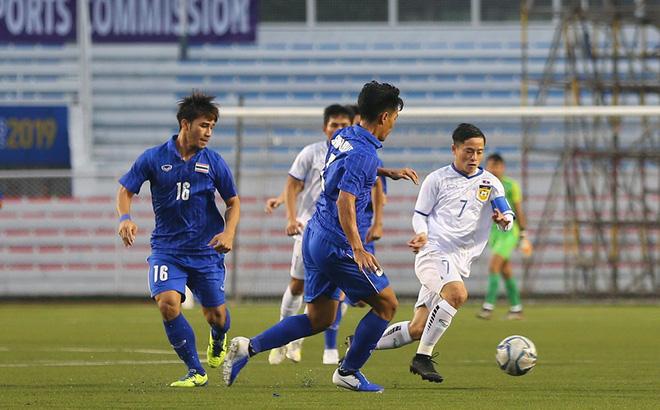 Thắng chật vật trước Lào, U22 Thái Lan bị CĐV nhà chỉ trích: Nhìn Việt Nam thắng 6-1 mà ham - Ảnh 1.