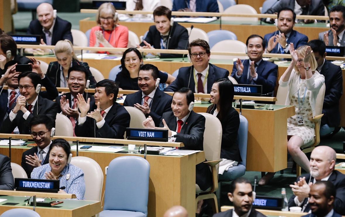 5 dấu ấn ngoại giao 2019: Tỏa sáng bản lĩnh, tinh thần và vị thế Việt Nam trên trường quốc tế - Ảnh 7.