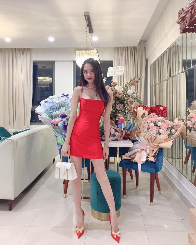 Sau Tăng Thanh Hà, Hương Giang Idol lại khiến fan hoảng hốt vì thân hình gầy gò, yếu ớt - Ảnh 2.