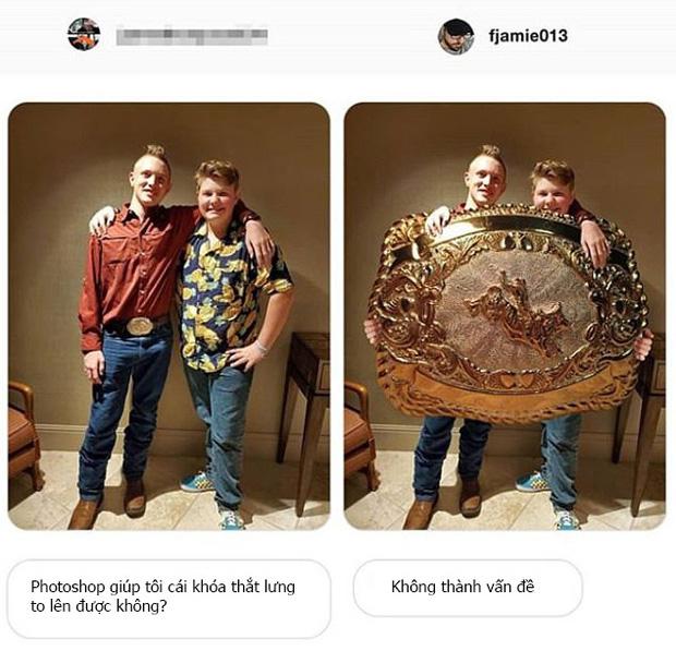 Chuyên nhận photoshop hộ ảnh trên mạng, anh chàng designer lầy lội trả về loạt thành phẩm khiến khổ chủ dở khóc dở cười - Ảnh 4.