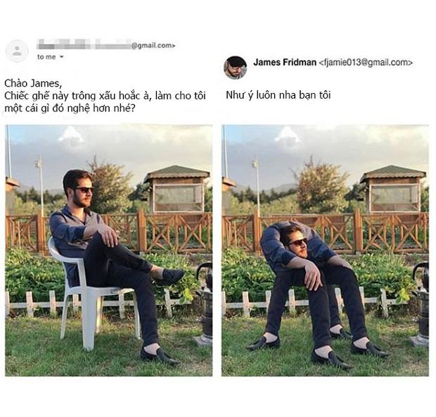 Chuyên nhận photoshop hộ ảnh trên mạng, anh chàng designer lầy lội trả về loạt thành phẩm khiến khổ chủ dở khóc dở cười - Ảnh 6.